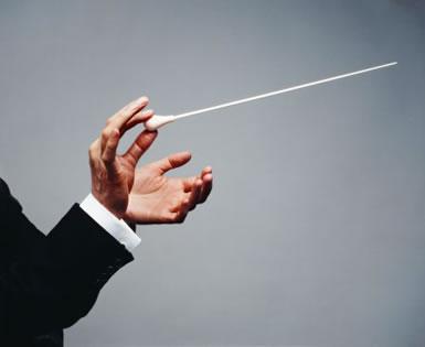 El empleo de la batuta en la dirección orquestal