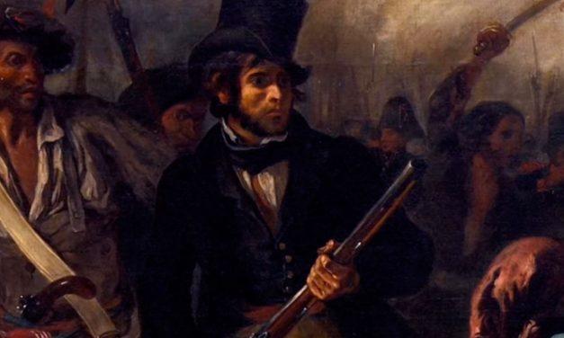 La libertad guiando al pueblo – Eugène Delacroix