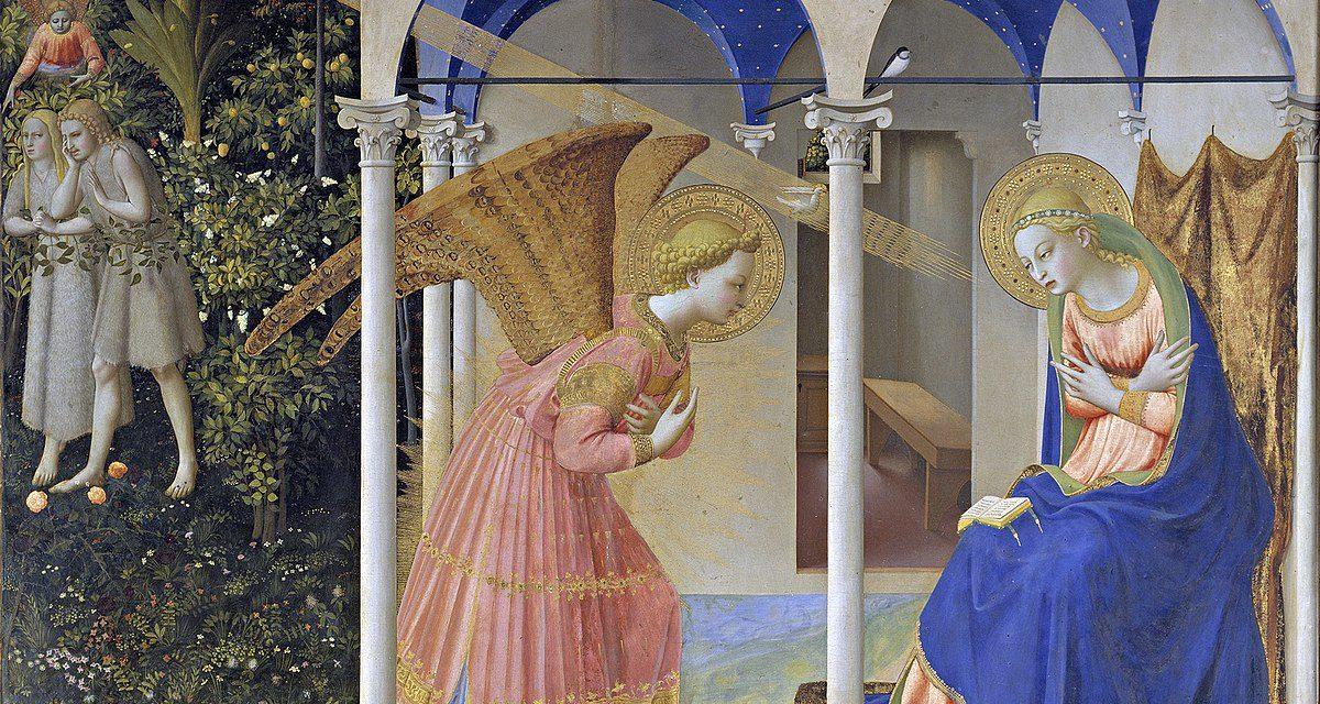 La Anunciación – Fra Angélico