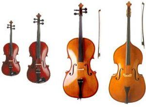 seccion de cuerda en la orquesta