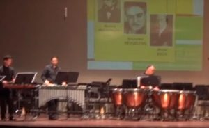 seccion de percusion orquesta