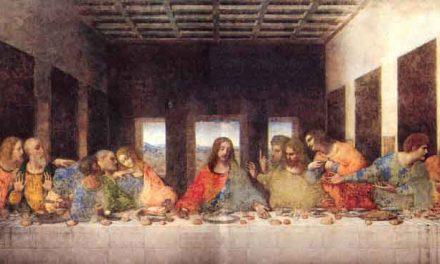 La Santa Cena – Leonardo da Vinci
