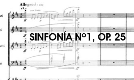 "Sinfonía nº1, Op. 25, ""Clásica"" de Sergei Prokofiev"