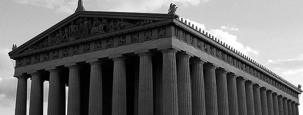 El Partenón, erguido en la Acrópolis ateniense