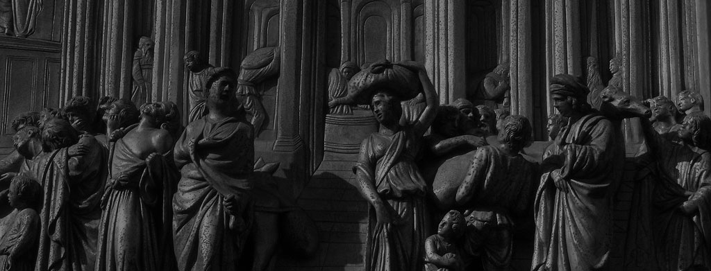 Puerta del Paraíso del Baptisterio de Florencia – Lorenzo Ghiberti