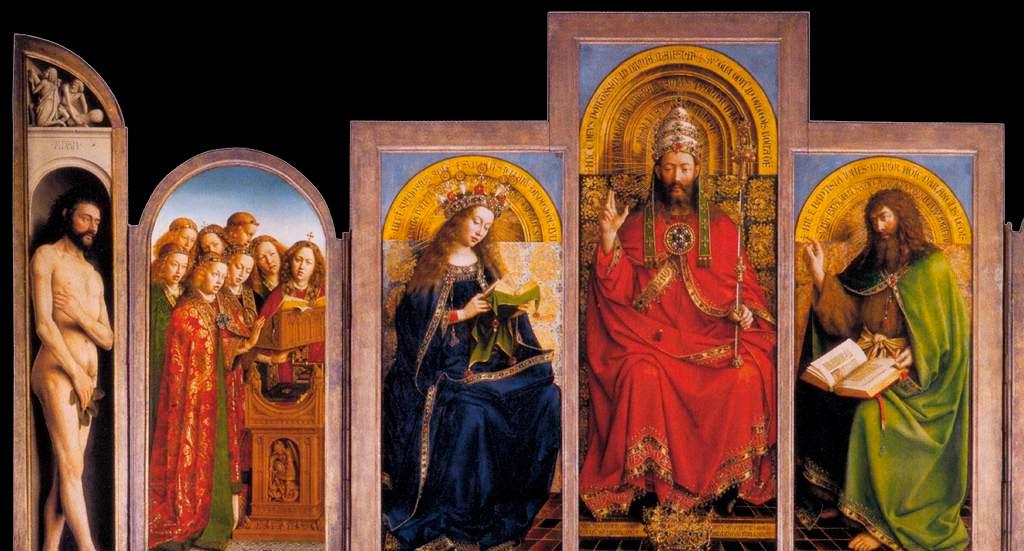 Políptico del Cordero Místico – Jan Van Eyck