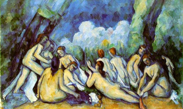 Las grandes bañistas – Paul Cézanne