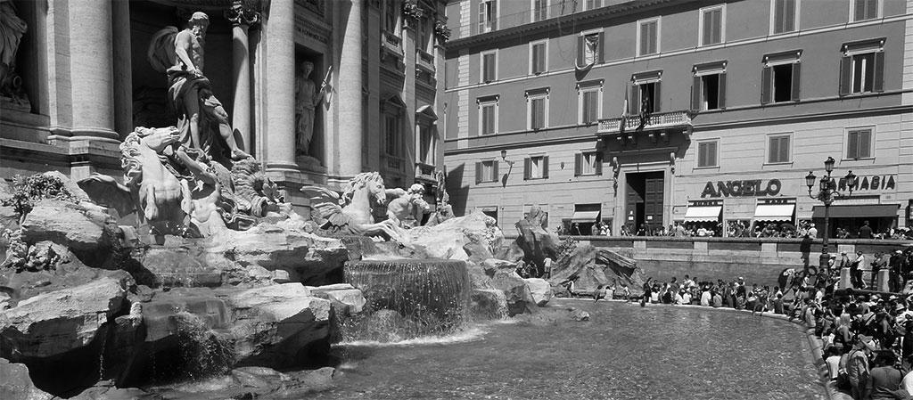 La Fontana di Trevi – Alessandro Galilei y Nicola Salvi