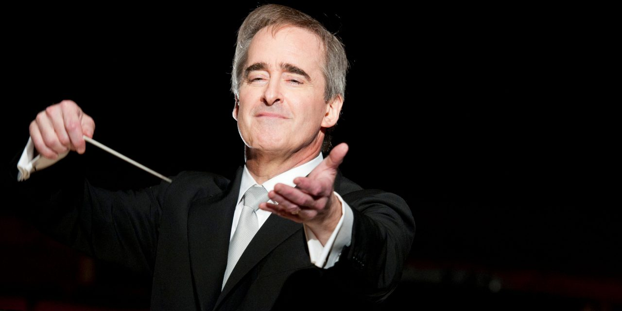 James Conlon, director de orquesta