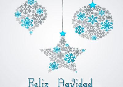 feliz-navidad bolas y estrella