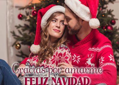 gracias por amarme feliz navidad