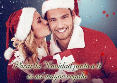 la navidad junto a ti es mi mayor regalo