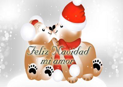 mi amor feliz navidad