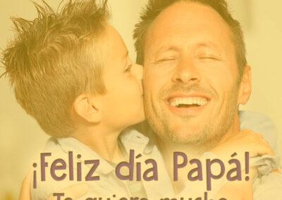 feliz dia del padre te quiero