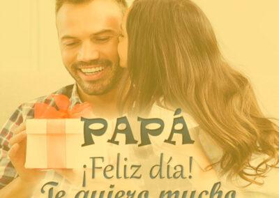 papa feliz